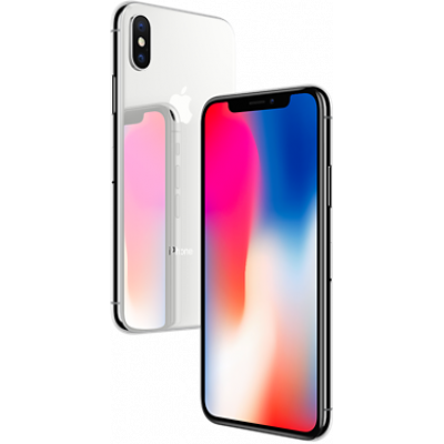 iPhone X 64Gb Silver б/у