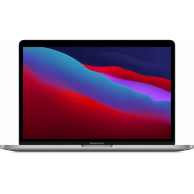 "Ноутбук Apple MacBook Pro 13"" M1 (2020)  (MYD92LL)  Space Gray, Touch ID, M1, 8 Гб, SSD 512Гб"