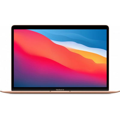 "Ноутбук Apple MacBook Air 13"" M1 (2020) (MGNE3LL) Gold, Touch ID, M1, 8 Гб, SSD 512 Гб"