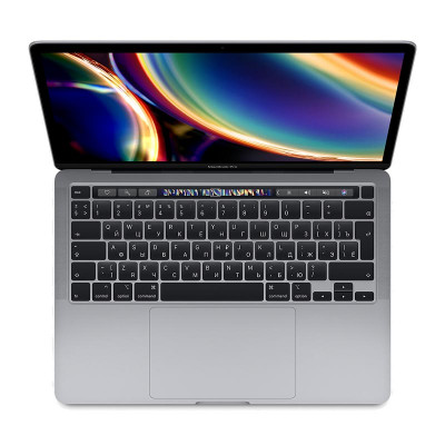 "Ноутбук Apple MacBook Pro 13"" Touch Bar (2020) (MXK52LL) Space Gray, Touch ID, Intel Core i5 1.4 ГГц, 8 Гб, SSD 512 Гб, Intel Iris Plus Graphics 645"